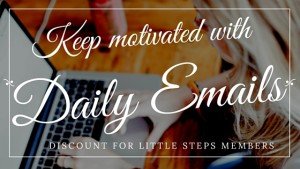 Daily emails